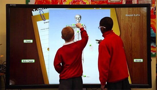 Interactive Touch Screens for Schools Ireland