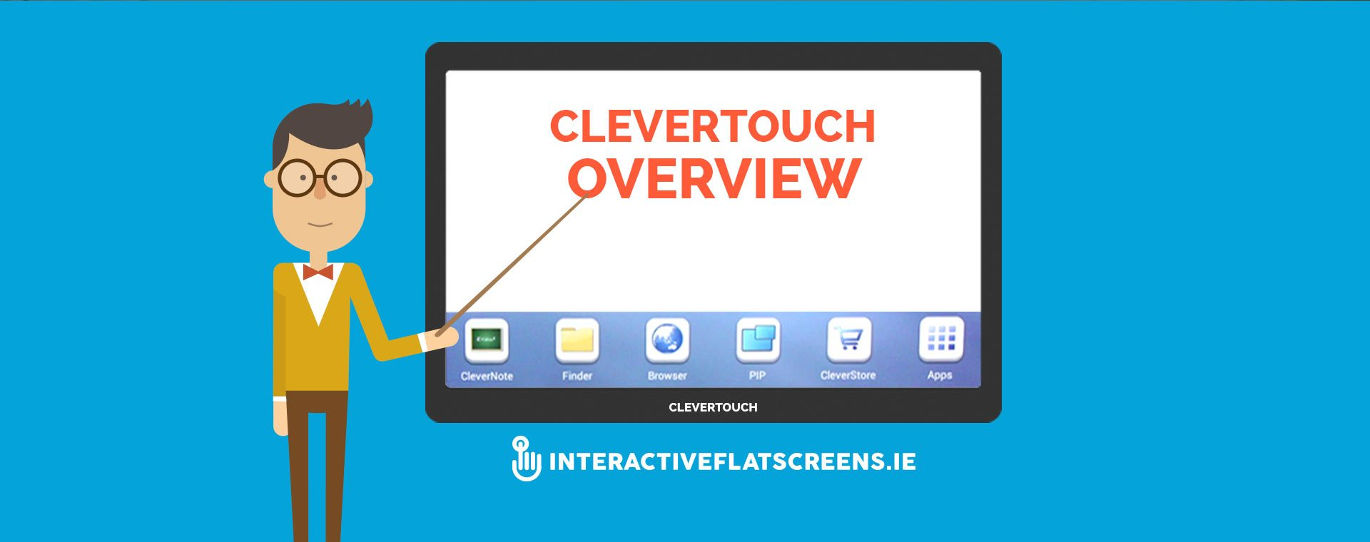 Clevertouch Overview Training Video - Interactive Touch Screens