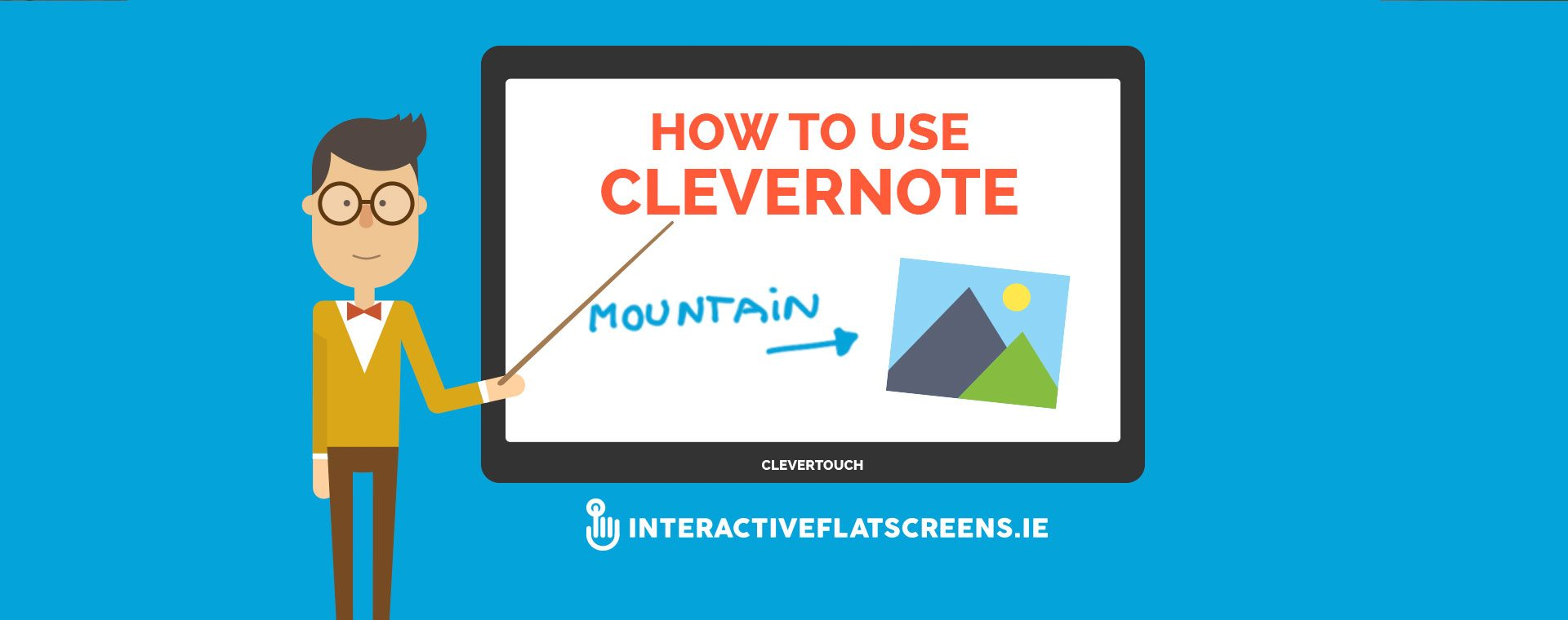 How to Use CleverNote - Clevertouch Training Video