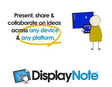 Interactive Flat Screen Software - Display Note