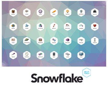 Interactive Flatscreen Software - SnowFlake