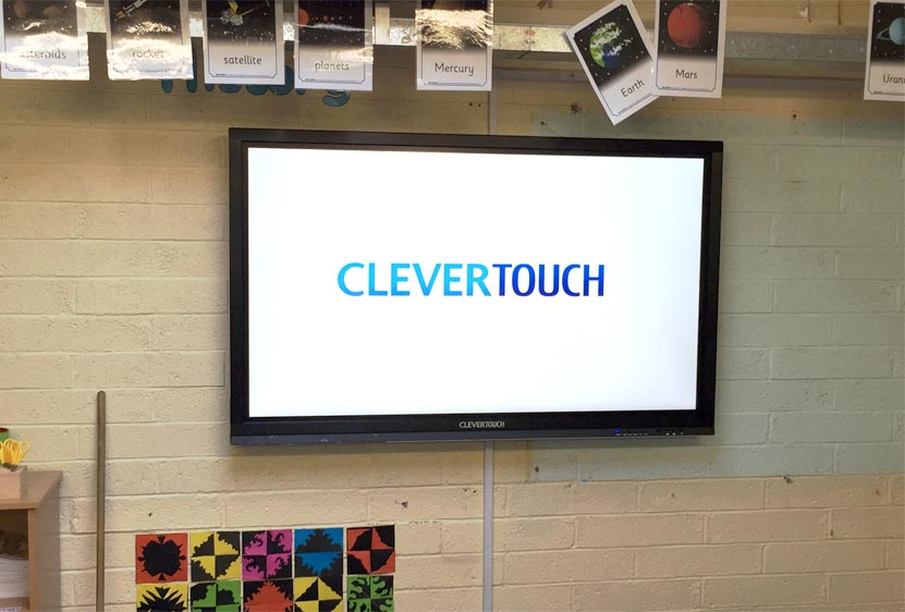 Scoil Aonghusa CleverTouch Case Study - Dublin