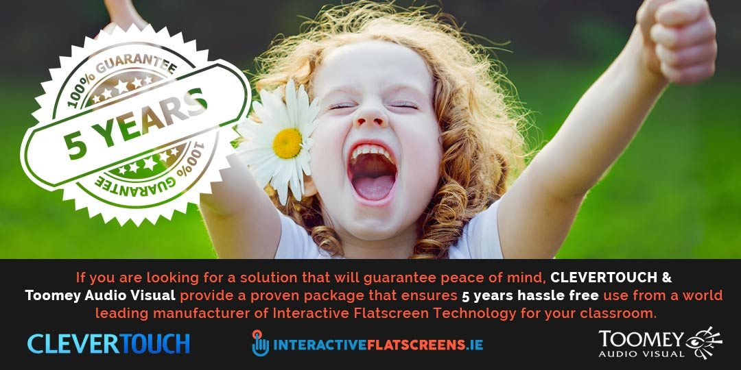 About Interactive Flatscreens - Clevertouch - Toomey Audio Visual Dublin