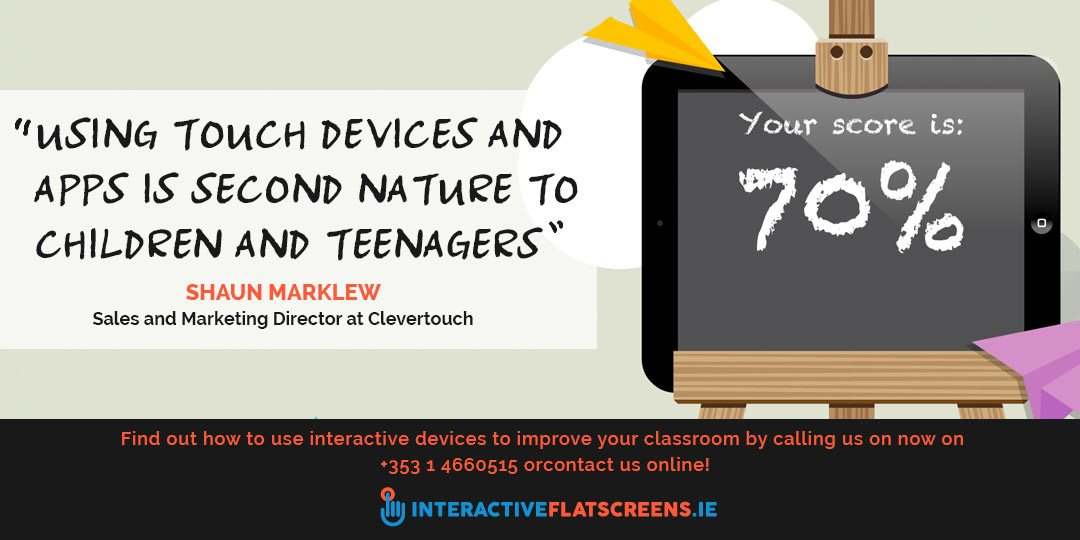 Interactive Touch Screens in Schools