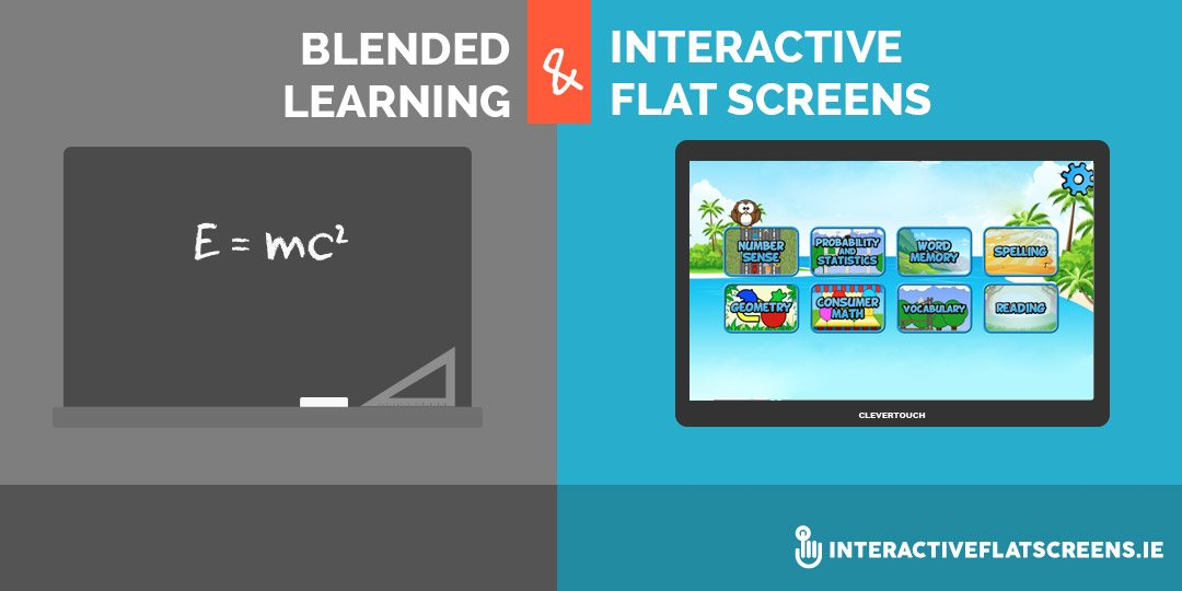 Blended Learning & Interactive Flat Screens