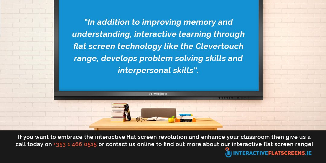 Interactive Flat Screen Technology in the Classroom
