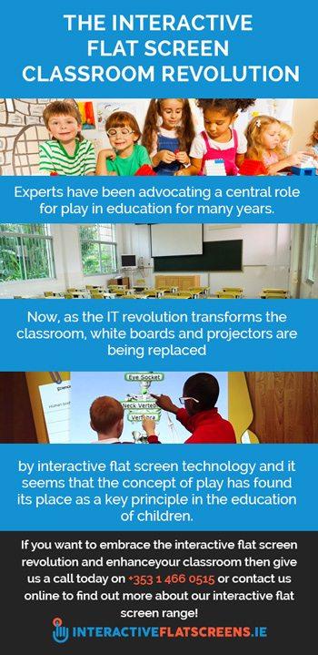 Interactive Flat Screens in Classrooms - IFS Revolution