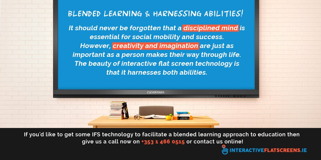 What is Blended Leaning - Harnessing Abilities