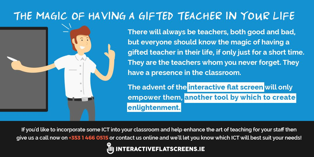 ICT & The Art of Teaching - Interactive Flat Screens
