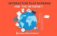 Interactive Flatscreen and the Internet - Clevertouch Screens
