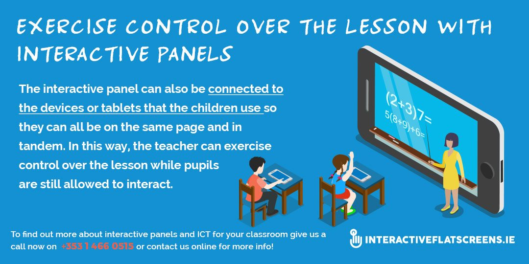 Interactive Panels for Teaching - ICT in Schools