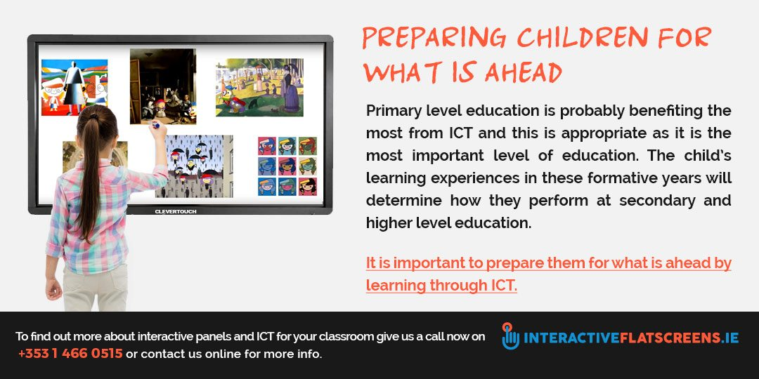 Interactive Panels in the classroom - ICT in schools