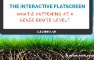 What's Happening At A Grass Roots Level - Interactive Flat Screens
