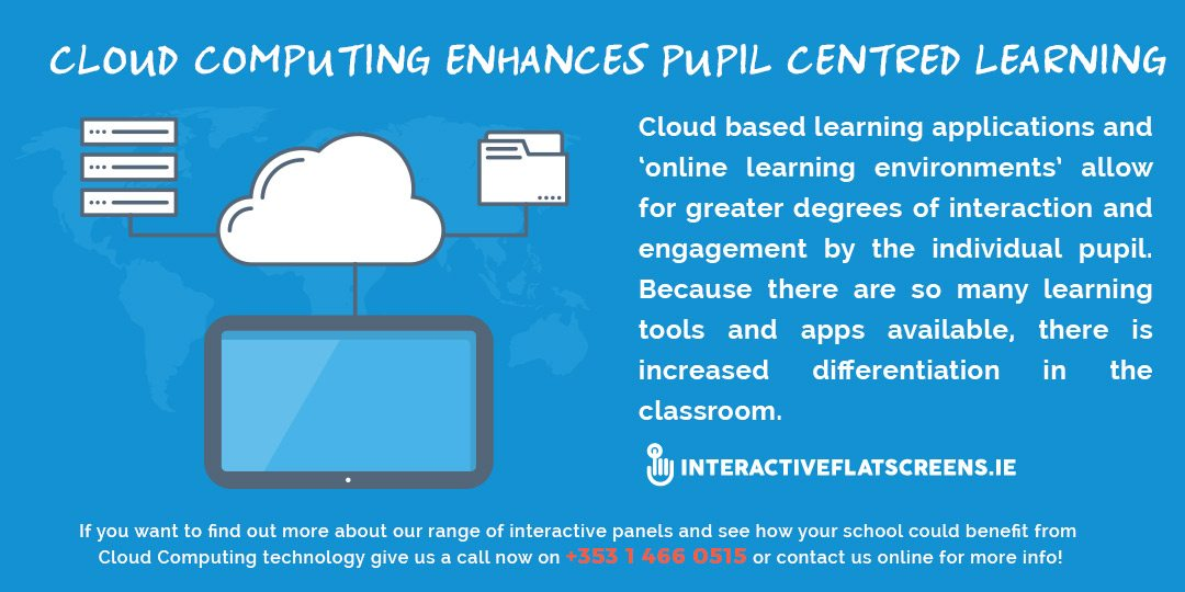 Cloud Computing For Pupil Centred Learning