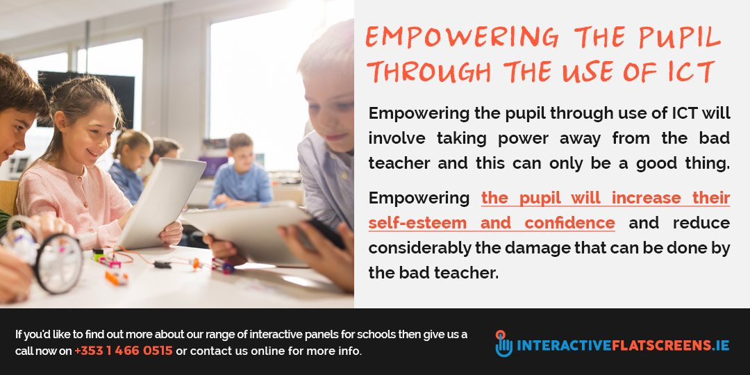 Empowering Students With ICT - Interactive Panels Ireland
