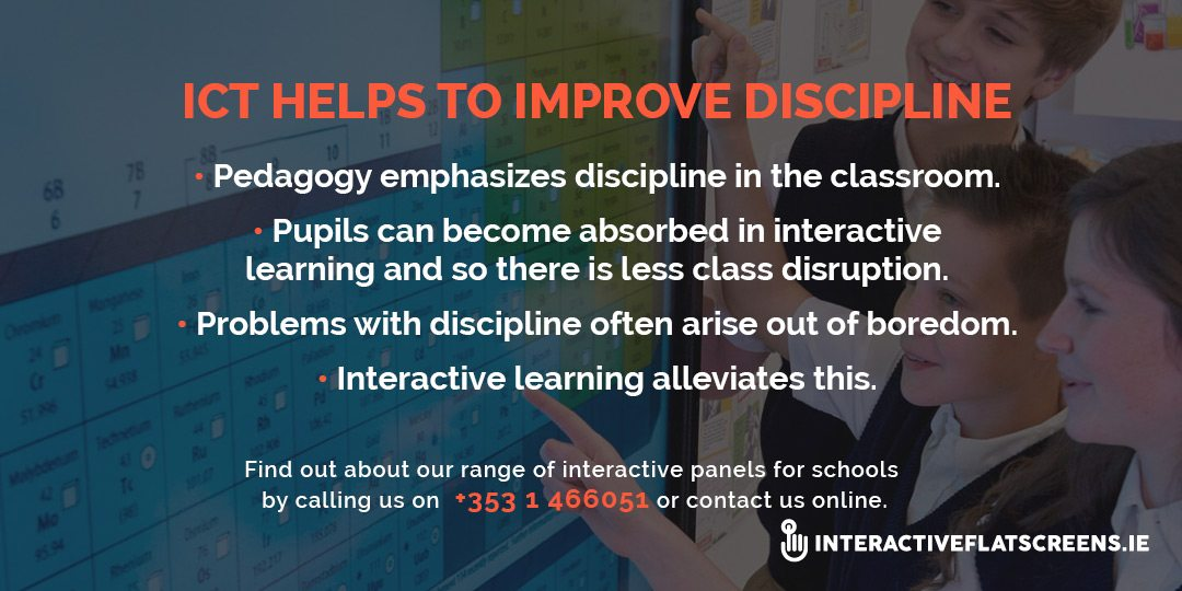ICT and Class Discipline - Interactive Panels