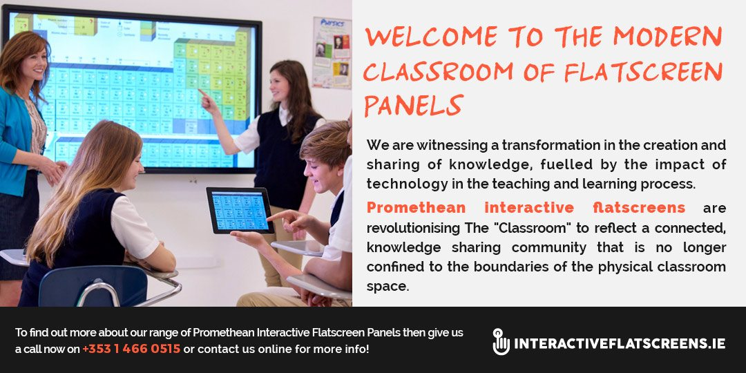 Promethean V4 Interactive Flatscreen Panels - ICT in The Classroom