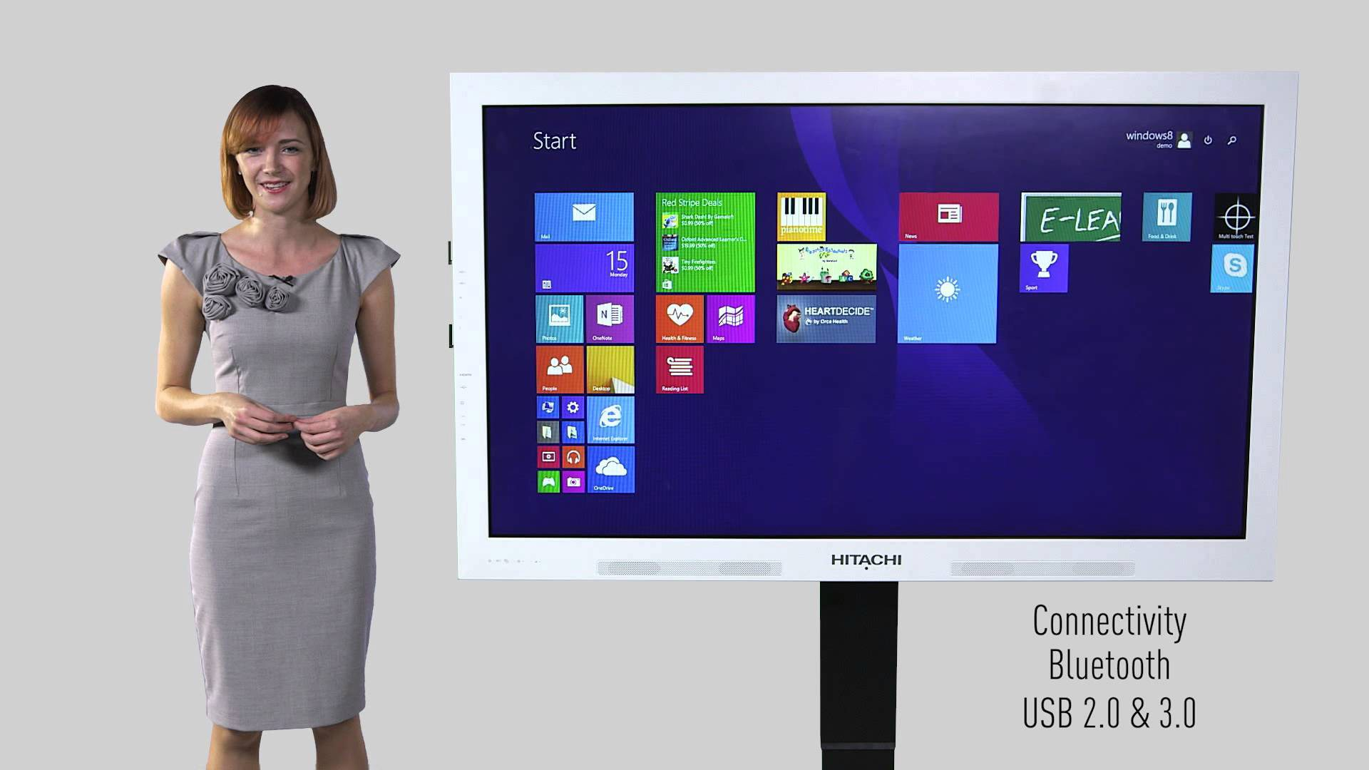 Hitachi Interactive Panel - Connectivity Bluetooth