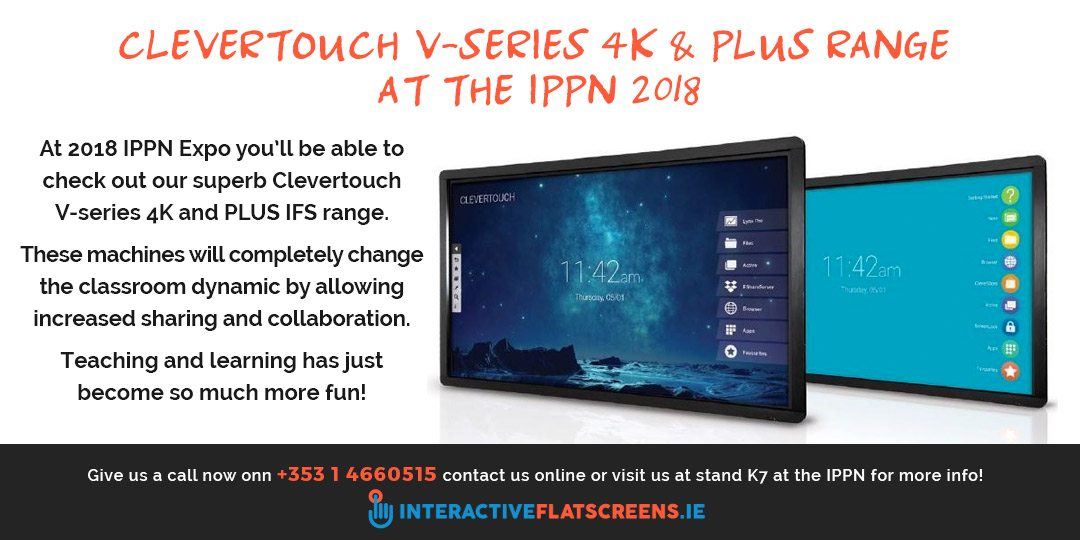 Clevertouch Interactive Flatscreens at the IPPN