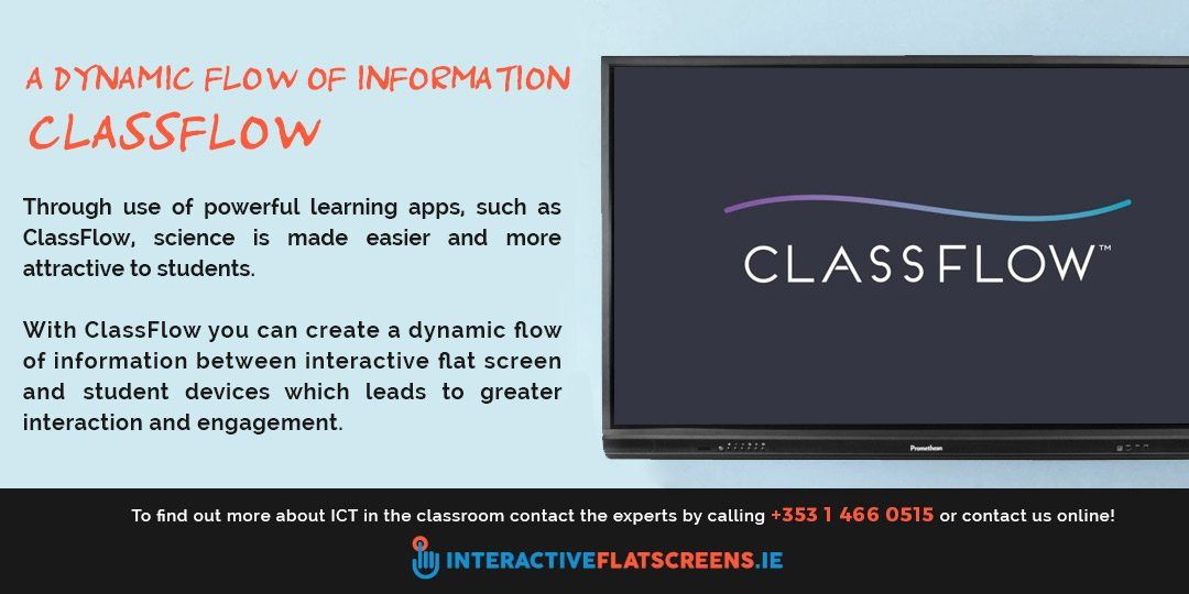 ClassFlow App for Interactive Flat Screens