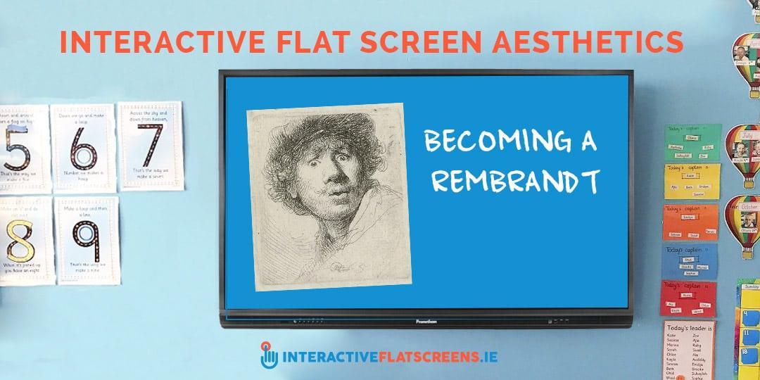 Interactive Flatscreens Aesthetics