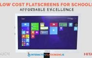 Low Cost Flatscreens for Schools - Hitachi and M-Touch - Interactive Flat Screens Ireland