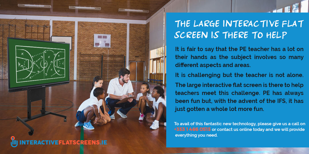 Interactive Flat Screens Helping Education