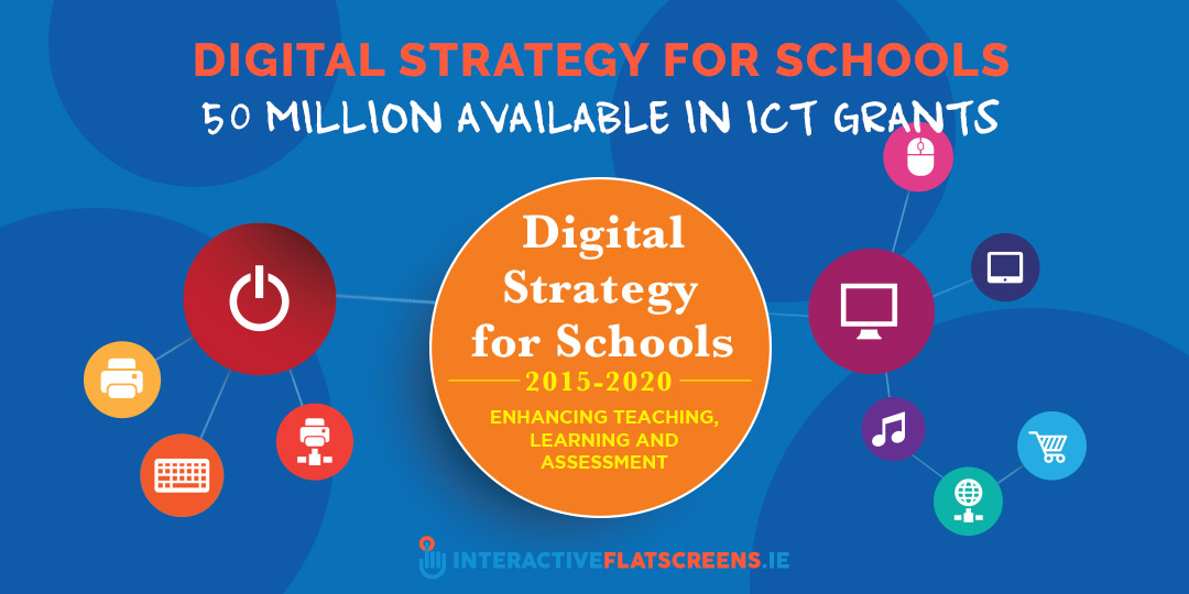 Digital Strategy for Schools - 50 million ICT Grants - Interactive Flat Screens Ireland