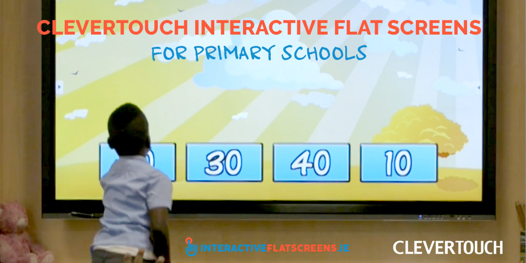 Clevertouch Interactive Flatscreen for Primary Schools
