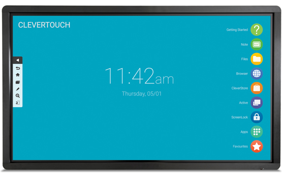 Clevertouch Plus 2019 - Interactive Flat Screens Range