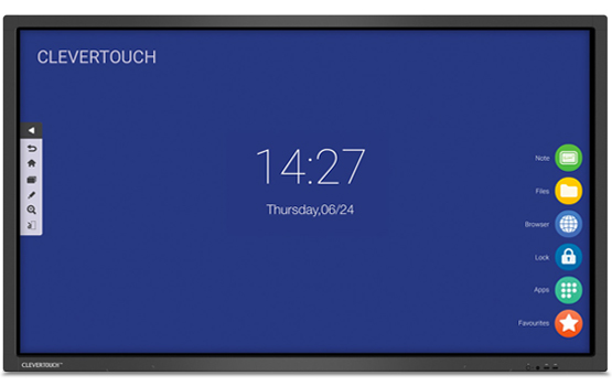 Clevertouch V Series 2019 - Interactive Flat Screens Range