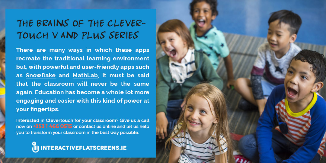 Learning Apps for Clevertouch Interactive Flatscreens