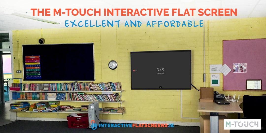 M-Touch Interactive Flat Screen Schools - Ireland