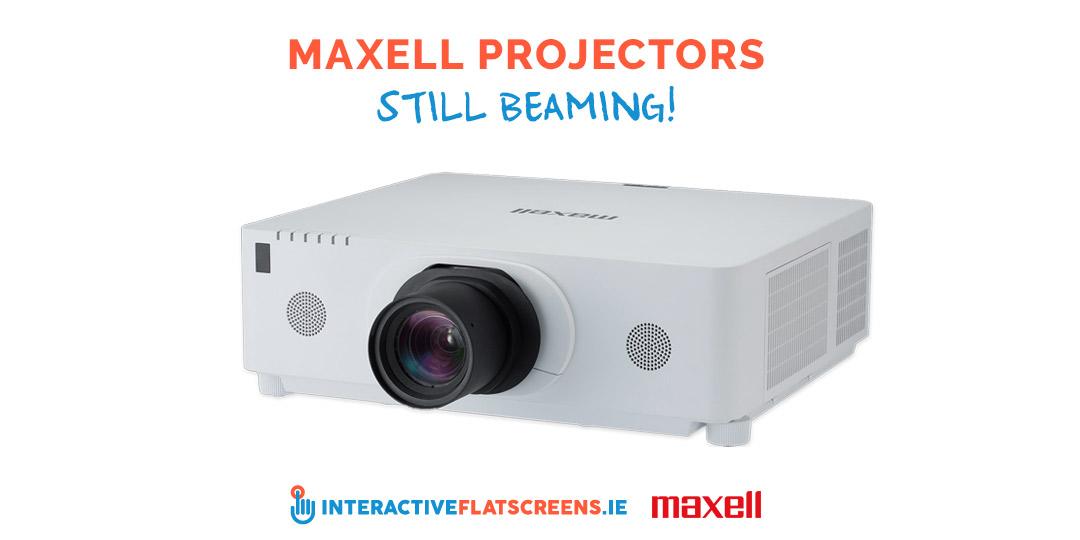 Maxell Projectors - Interactive Flatscreens - Ireland
