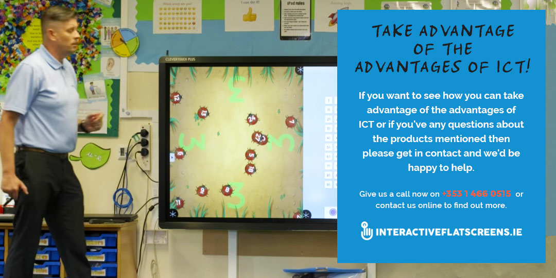 Advantages of ICT in Schools - Interactive Flatscreens Ireland