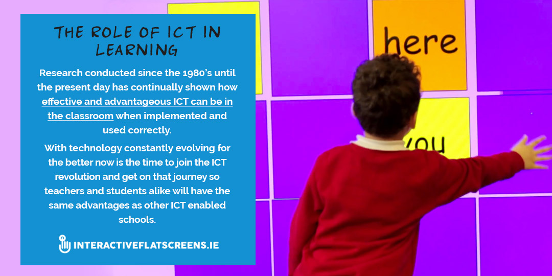 Role of ICT in Learning in Schools - Advantages of ICT