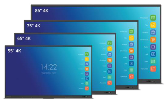 Clevertouch Impact Plus - Interactive Flatscreens for Schools
