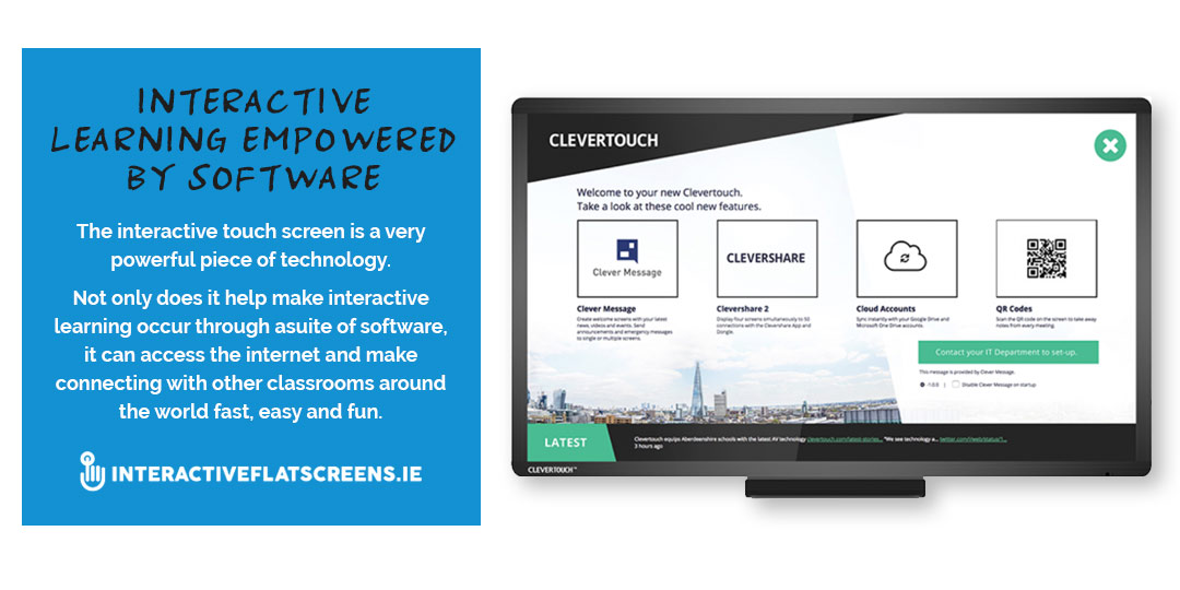 Interactive Flatscreen - Software - Apps - Irish Schools