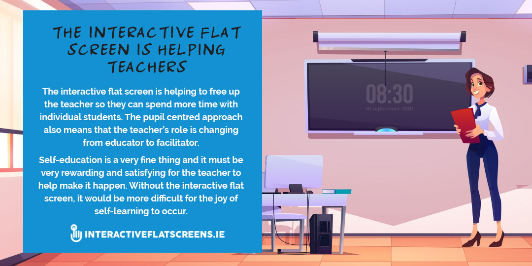 Interactive Screens Help Teachers - Ireland
