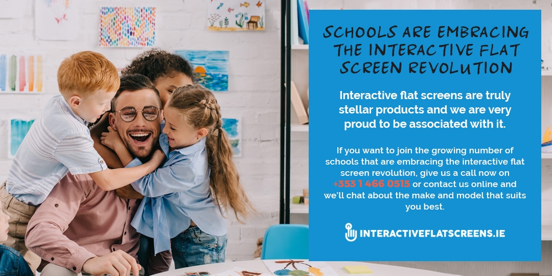 Irish Schools Embrace Interactive Flatscreens for Teachers