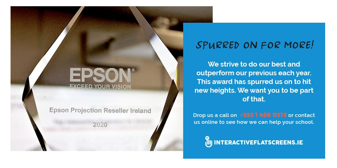 Interactive Flatscreen 2020 - EPSON Winners - Ireland