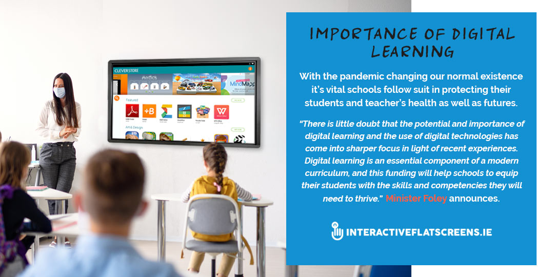 The Importance of Digital Learning Irish Schools - Interactive Flatsceens