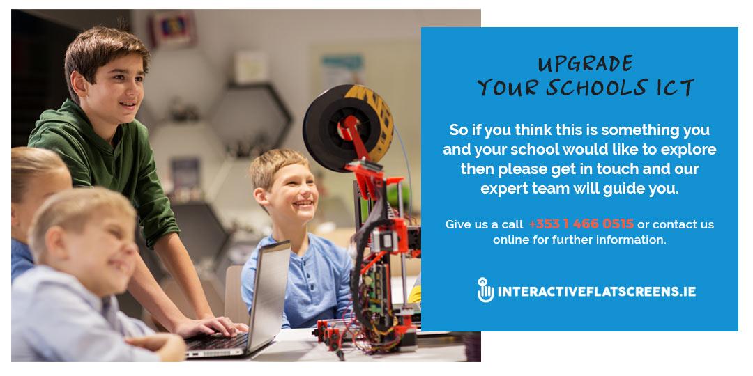 Upgrade School ICT - Grants for Schools - Interactive Flatscreens Ireland