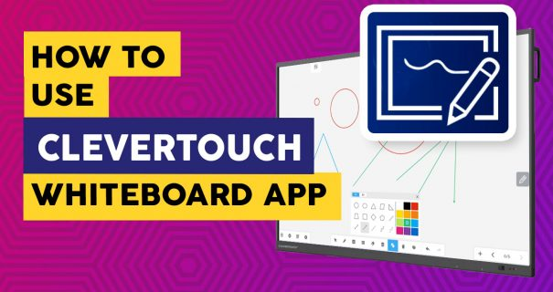 Clevertouch Whiteboard - Interactive Flatscreens Education