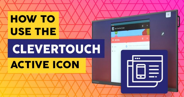 How Use Clevertouch Active Icon - Interactive Screen Schools
